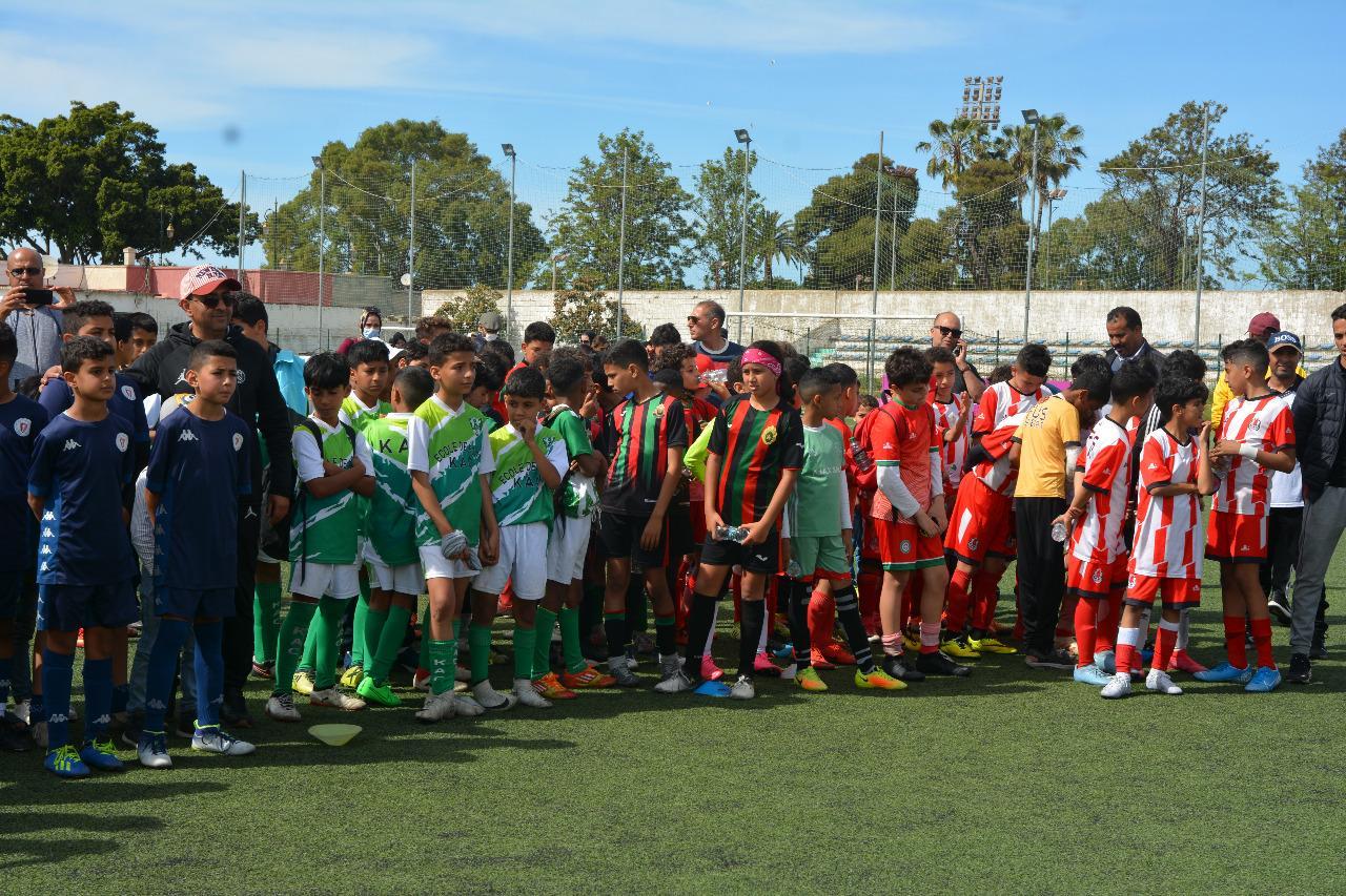 Football / Ligue du Gharb :  L'équipe «Al Achbal » remporte le tournoi des U12