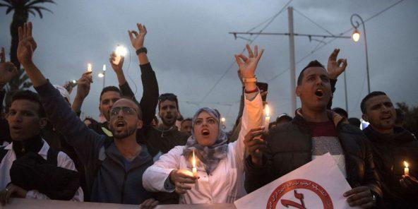 Face aux répressions, les «contractuels» adoptent de nouveaux modes de protestation