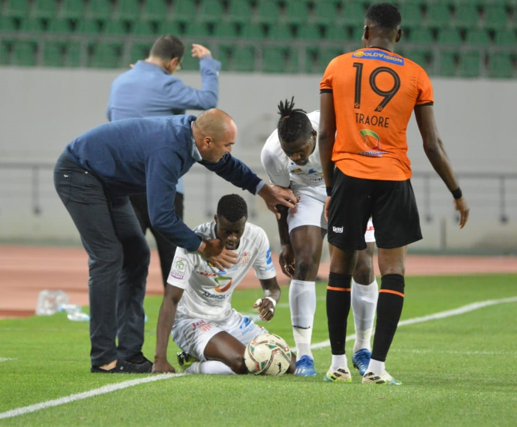 HUSA-RSB (1-2) : Bahraoui met le Hassania KO !