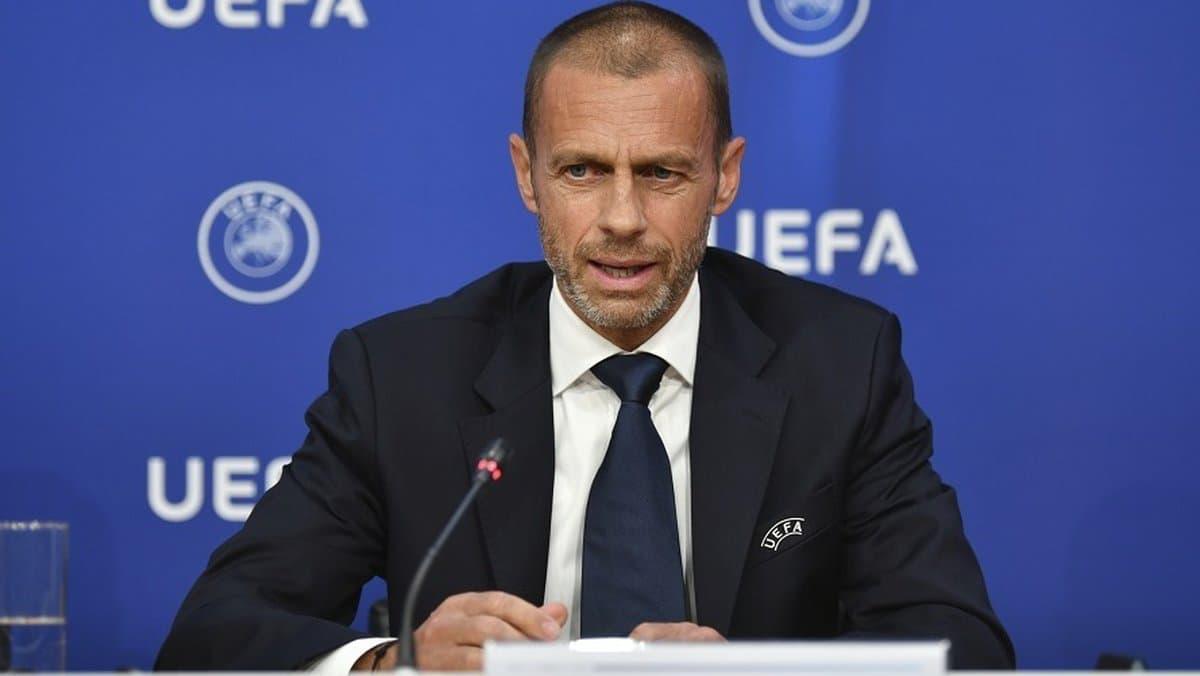 Création de la Super League:  La colère d'Alexandre Ceferin, président de l'UEFA