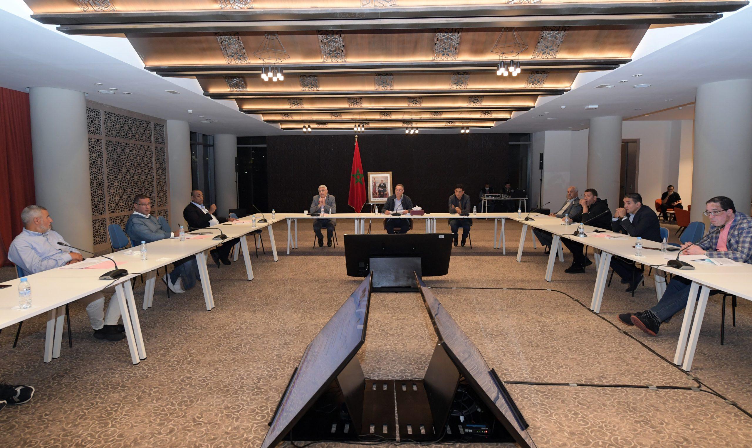 La restructuration de la direction technique des équipes nationales au centre d'une réunion du comité directeur de la FRMF