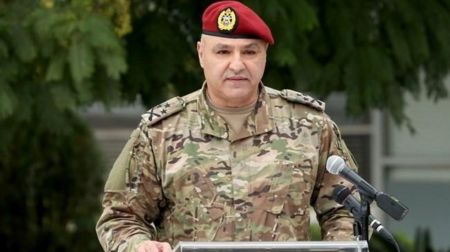 Beyrouth : Le chef de l'armée libanaise exprime sa gratitude à SM le Roi