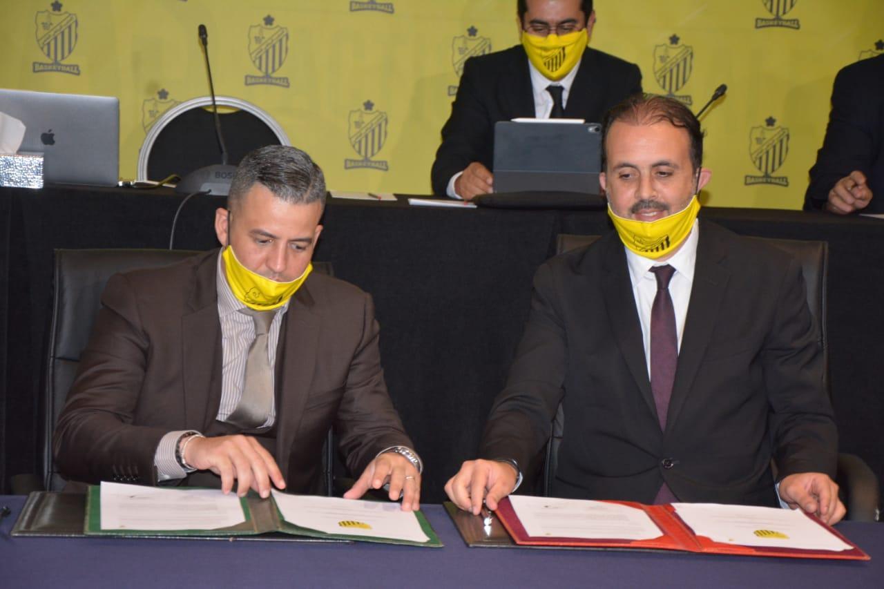 Signature de partenariat entre les deux sections du MAS. Phs Nidal