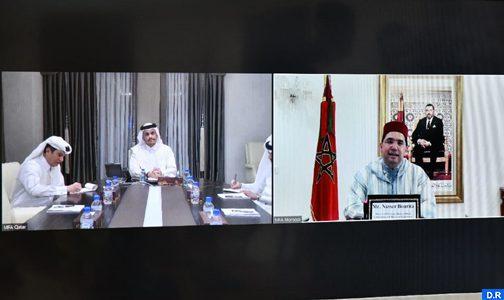 Bourita s'entretient avec son homologue qatari