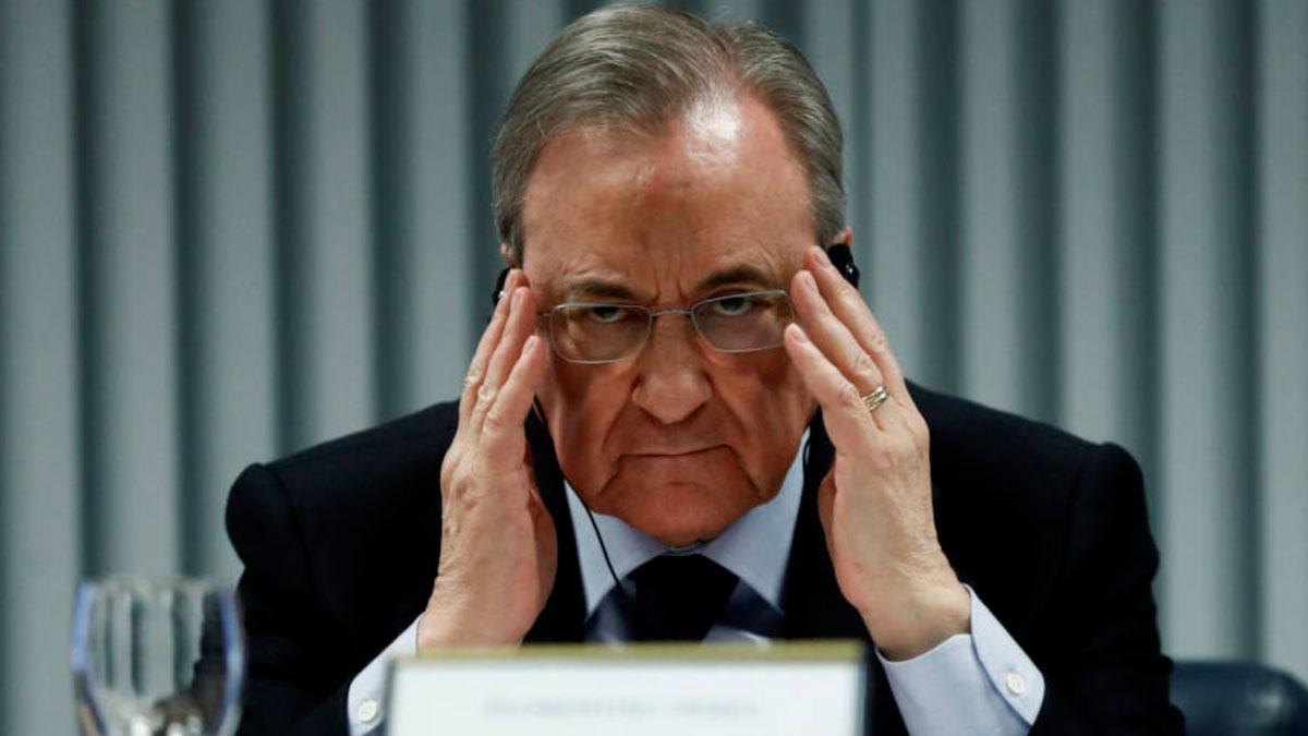 """Florentino Perez : le projet de Super Ligue européenne est """"en stand-by"""""""
