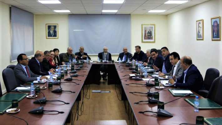Réunion du Comité Exécutif du parti de l'Istiqlal (Ph Archive).