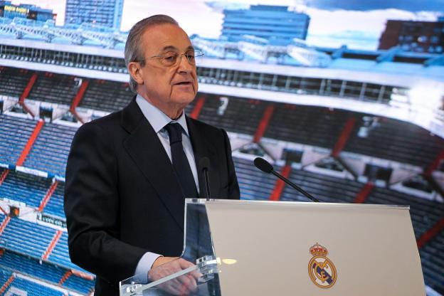 Point de presse de Florentino Perez à distance : « Soit nous faisons quelque chose bientôt, soit plusieurs clubs vont disparaitre. Bordeaux en est l'exemple »