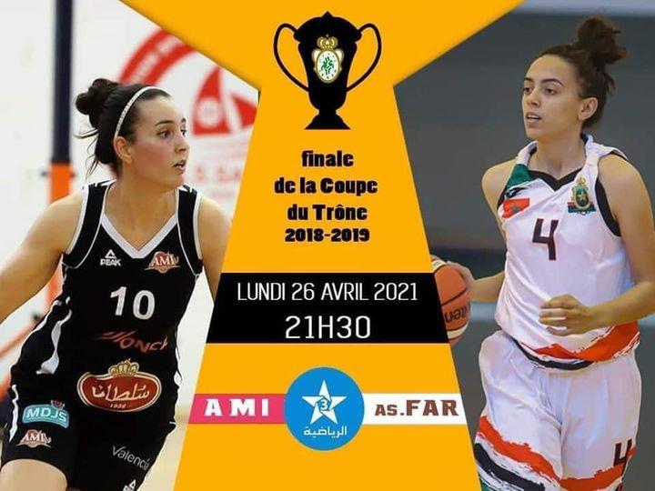 Basket-ball / Coupe du Trône (2018-2019) : Les dames de l'AS FAR visent leur 12ème titre