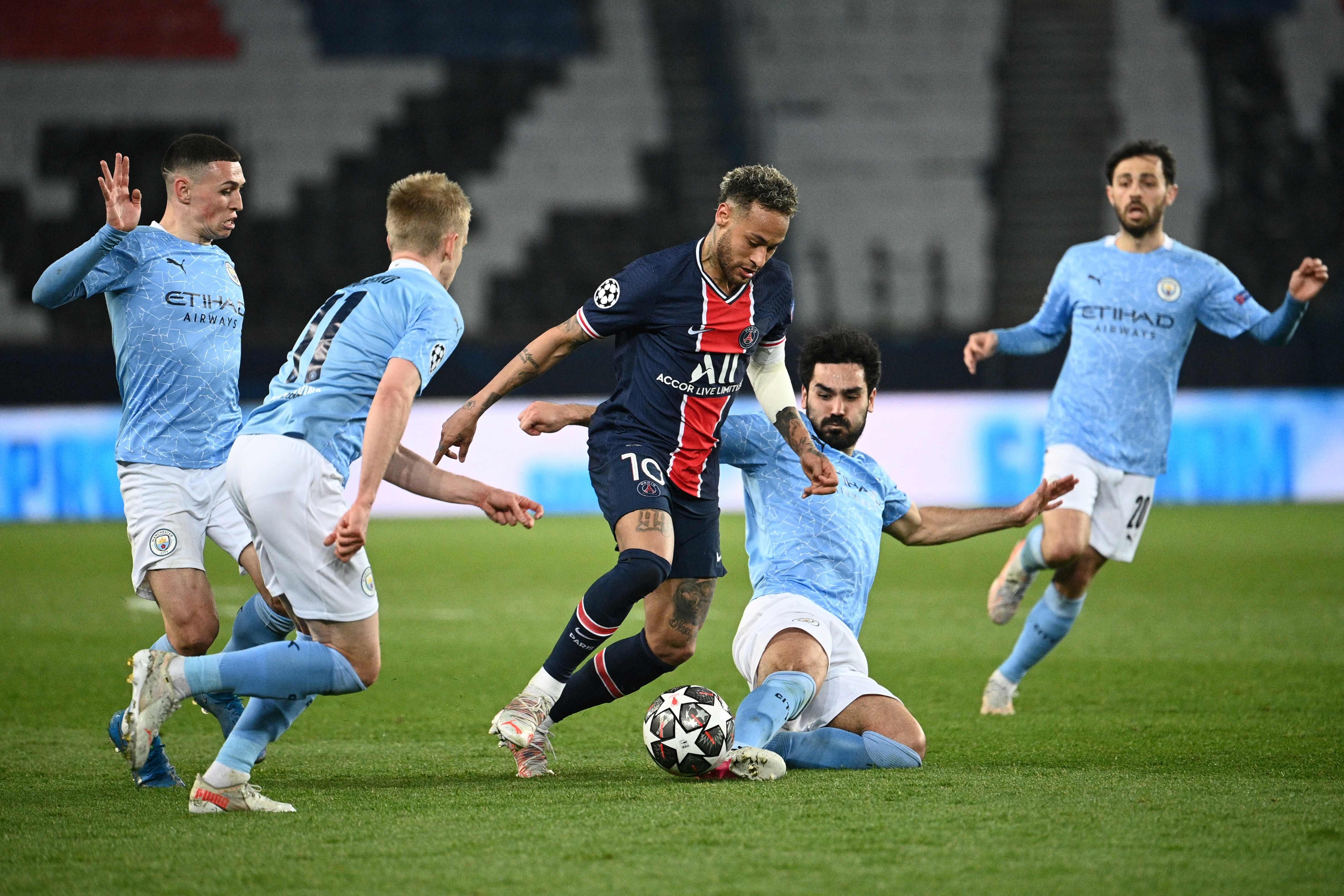 LDC / PSG-Manchester City (1-2) : Les Mancuniens surprennent les Parisiens !