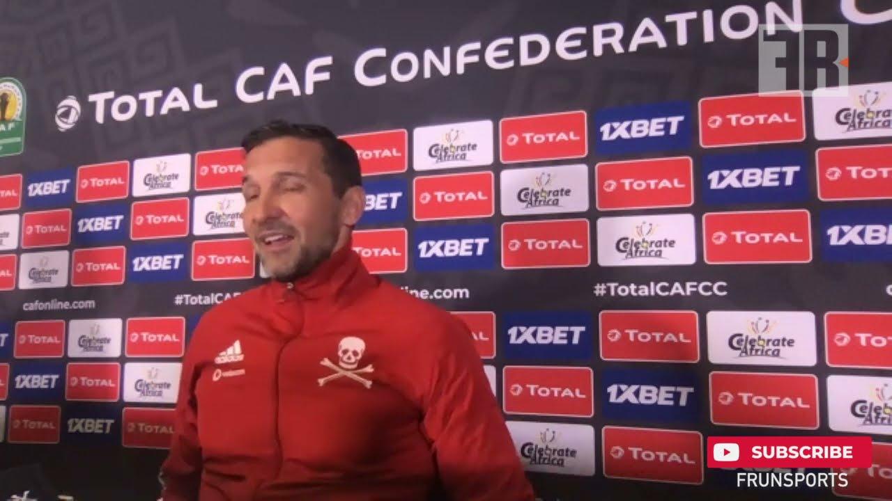 Joseph Zinnbauer, entraîneur, Orlando Pirates: « Nous affronterons l'un des plus grands clubs d'Afrique, le Raja »