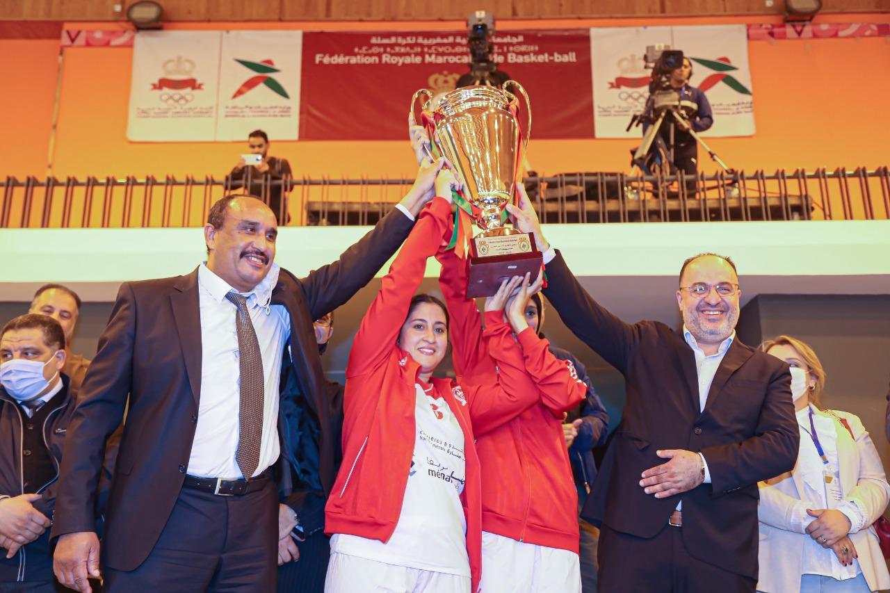 Basket-ball / Championnat national de « Dames » : Le Kawkab Marrakech champion du Maroc