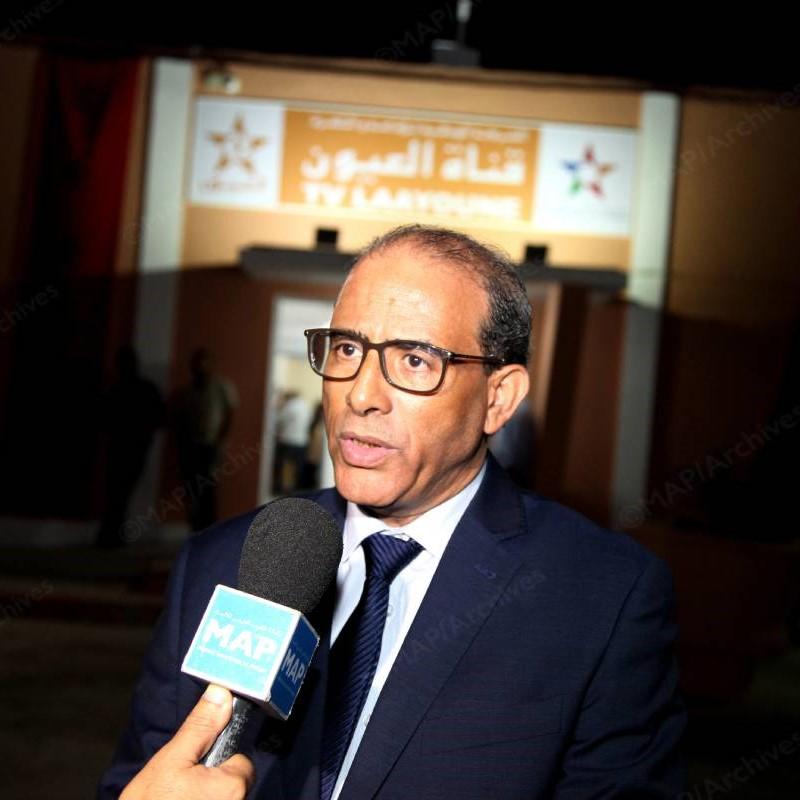 Mohamed Laghdaf Eddah, ex-directeur de Laâyoune TV.