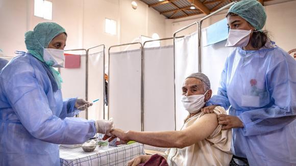 La campagne de vaccination élargie à la tranche d'âge 50-55 ans