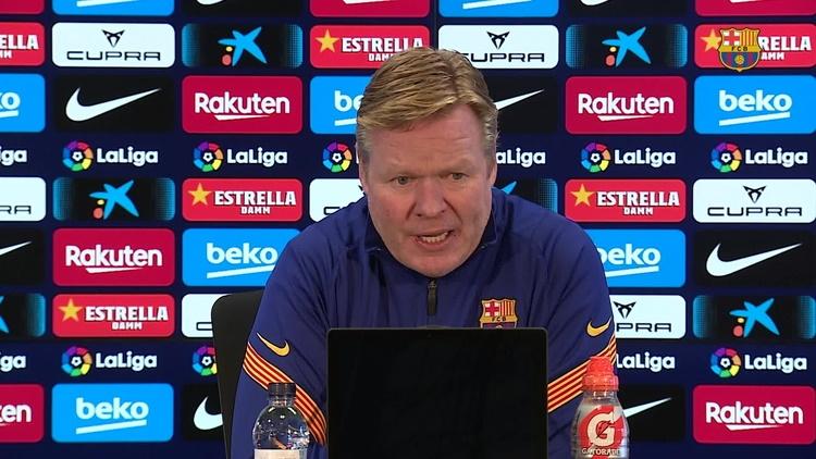 Koeman, entraineur du Barça : ''J'y suis, j'y reste !''