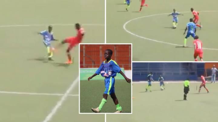 Incroyable mais vrai ! Au Libéria, un gamin de 11 ans surclassé pour jouer Senior !