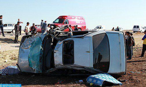 Accidents de la route : Quinze morts et 2.239 blessés en périmètre urbain la semaine dernière