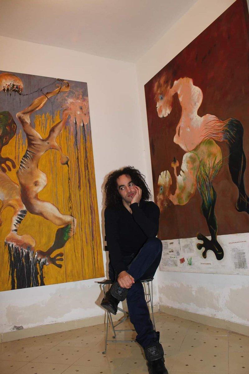 Arts plastiques:  Karim Attar tutoie les cieux