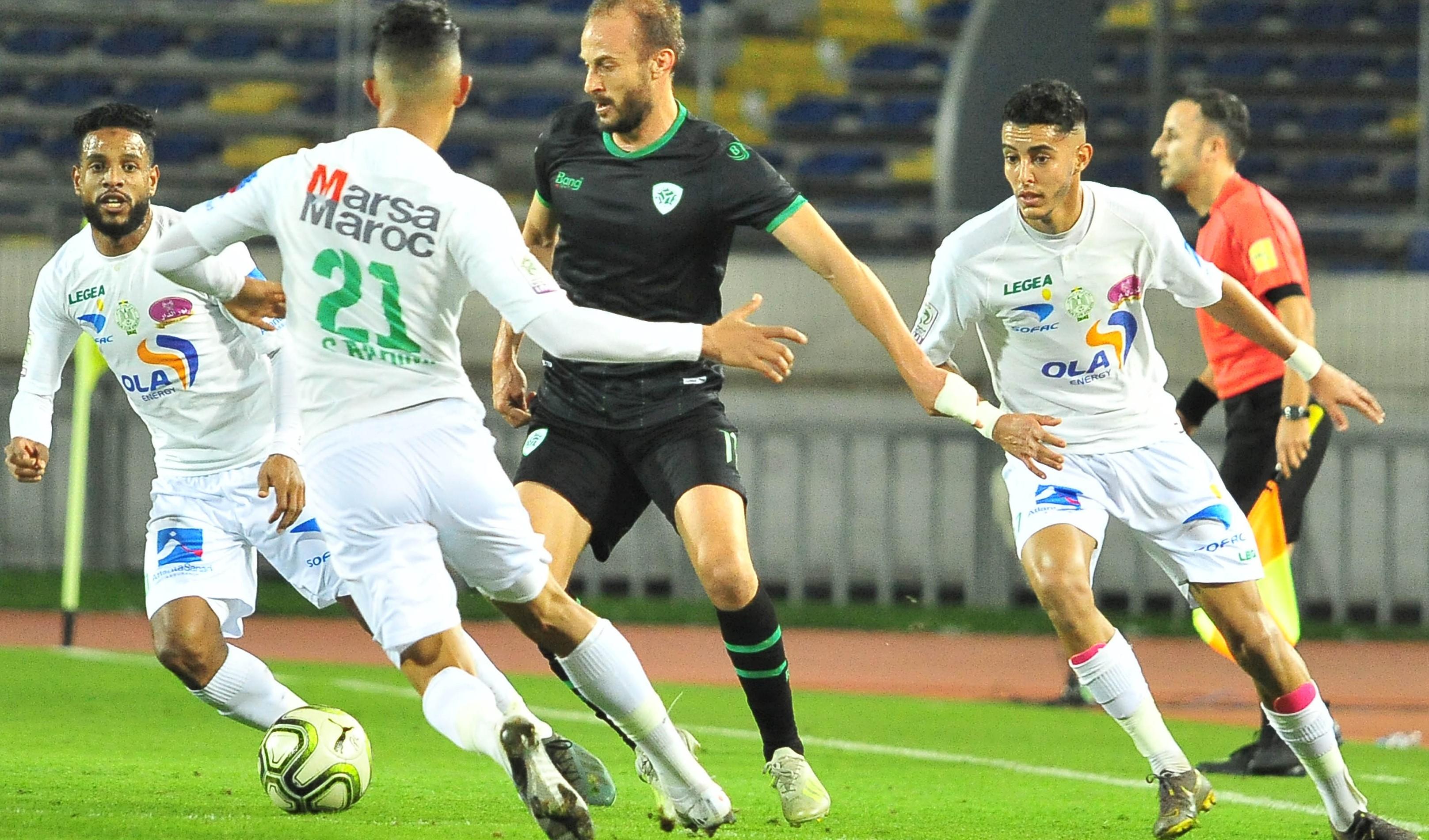 MCO-RCA : Ce jeudi, le Raja joue avec son équipe première face au Mouloudia