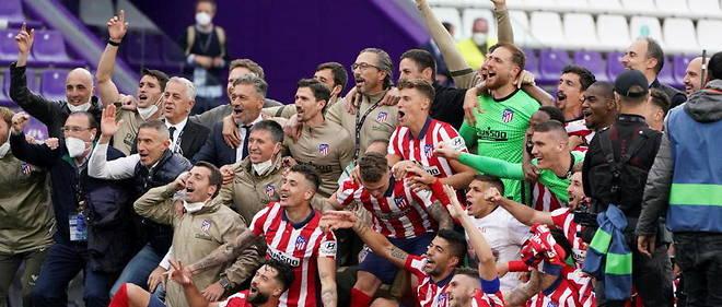 Foot: L'Atlético Madrid sacré champion d'Espagne pour la 11ème fois de son Histoire