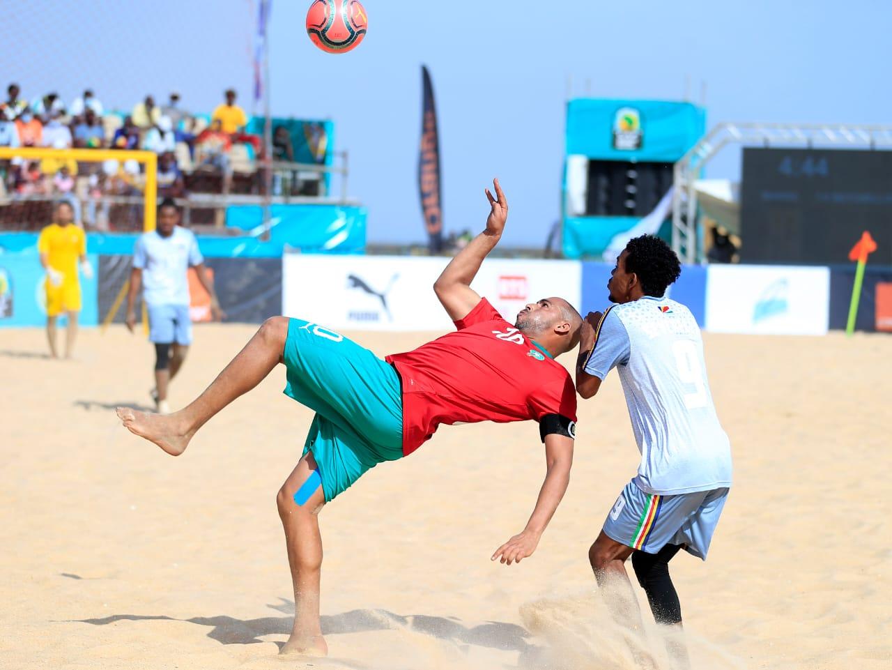 CAN de Beach Soccer :  Le Maroc gagne son premier match