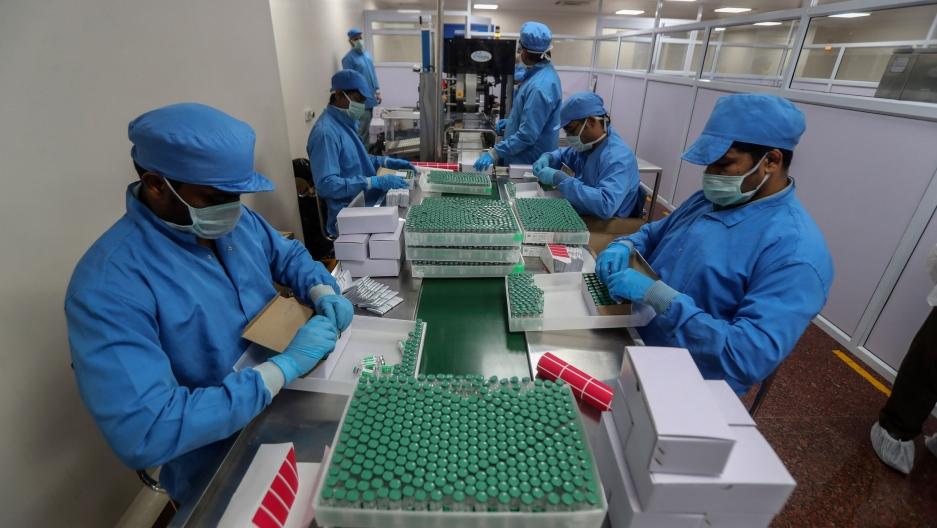 Lancement de la production du vaccin Spoutnik V en Inde