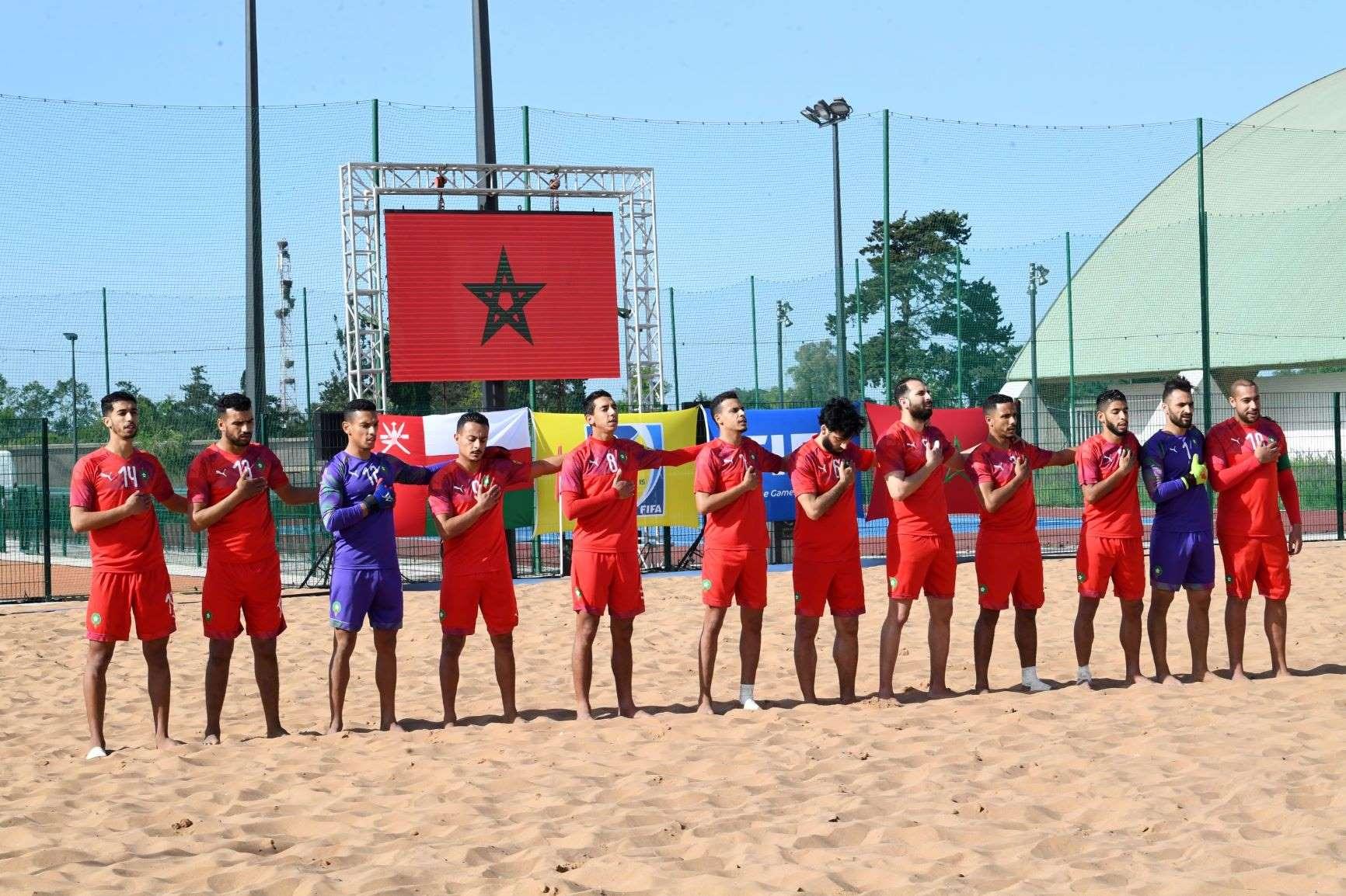 CAN de Beach Soccer : Le Maroc bat l'Egypte et se qualifie aux demi-finales