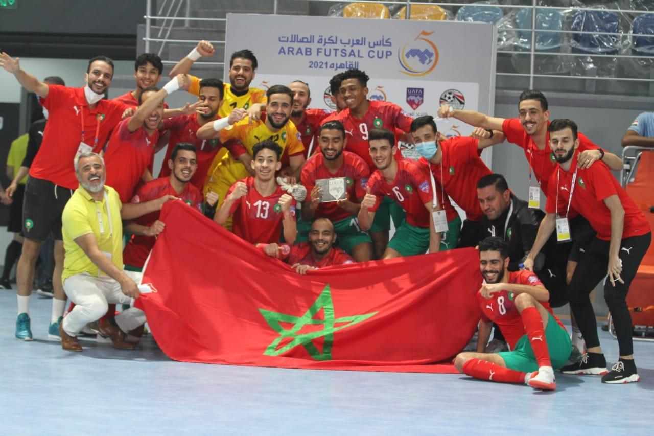 Arab Cup futsal / Demi-finale : Le Maroc survole le Bahreïn (6-0) !