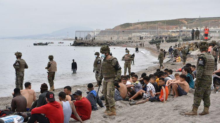 Les expulsions de mineurs de Sebta sous le coup d'une enquête