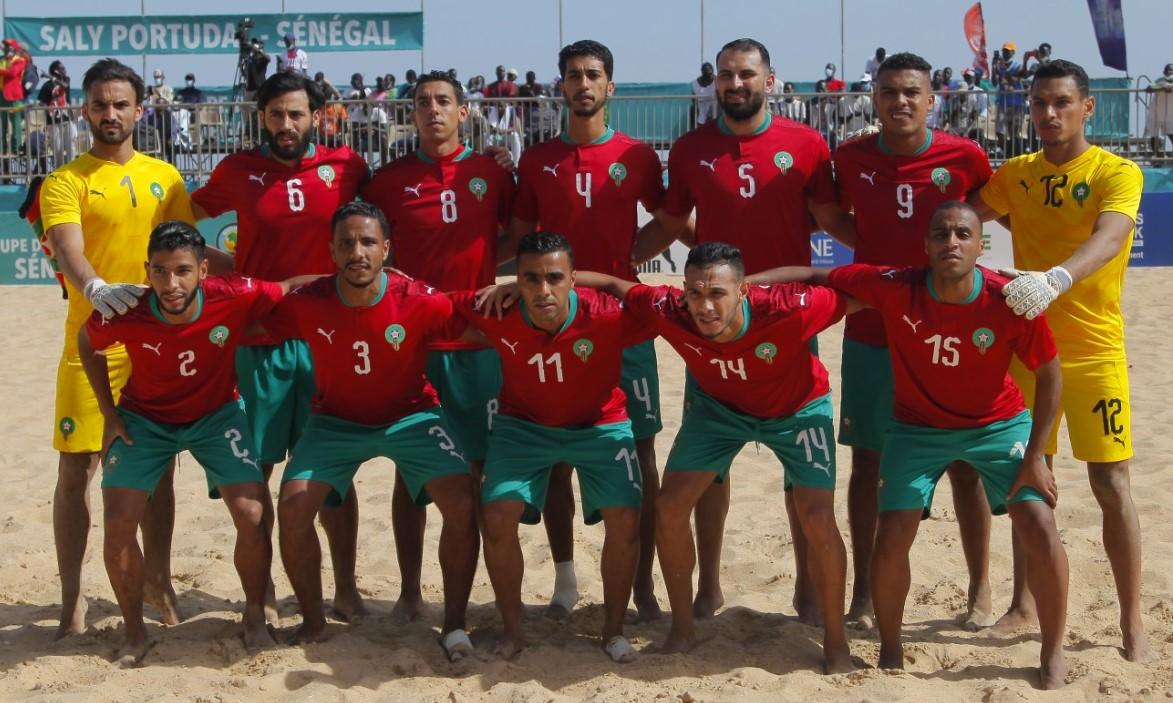 CAN de Beach Soccer : Le Maroc finit troisième