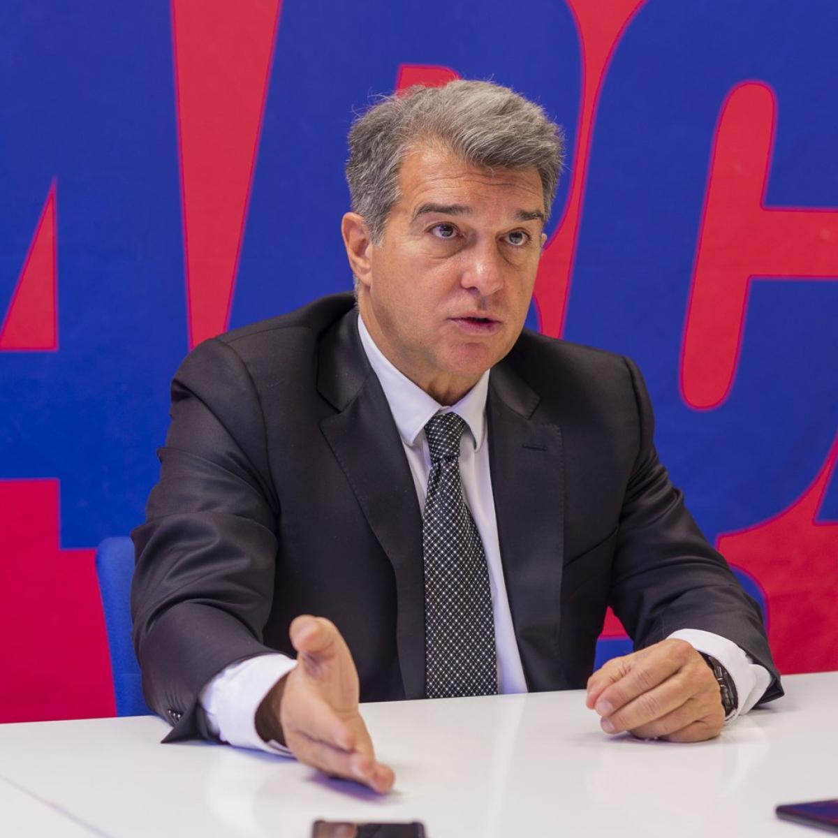 Première conférence de presse du président de Barcelone, Joan Laporta : « Le club doit connaître une réforme à tous les niveaux »