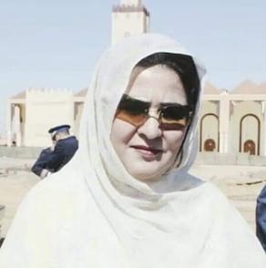 LALLA Maalouma Bousaid, Présidente de la commune rurale de Haouza, région de Smara