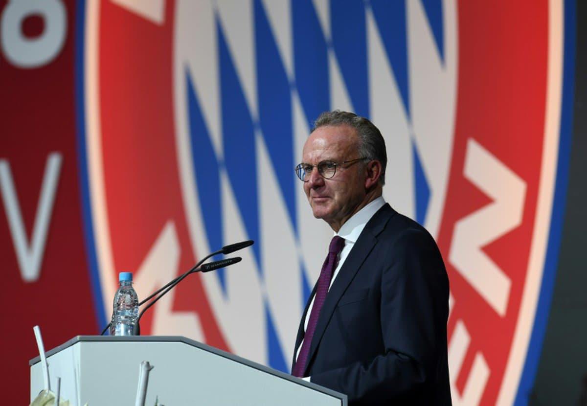 Football: Rummenigge quitte la présidence du directoire du Bayern