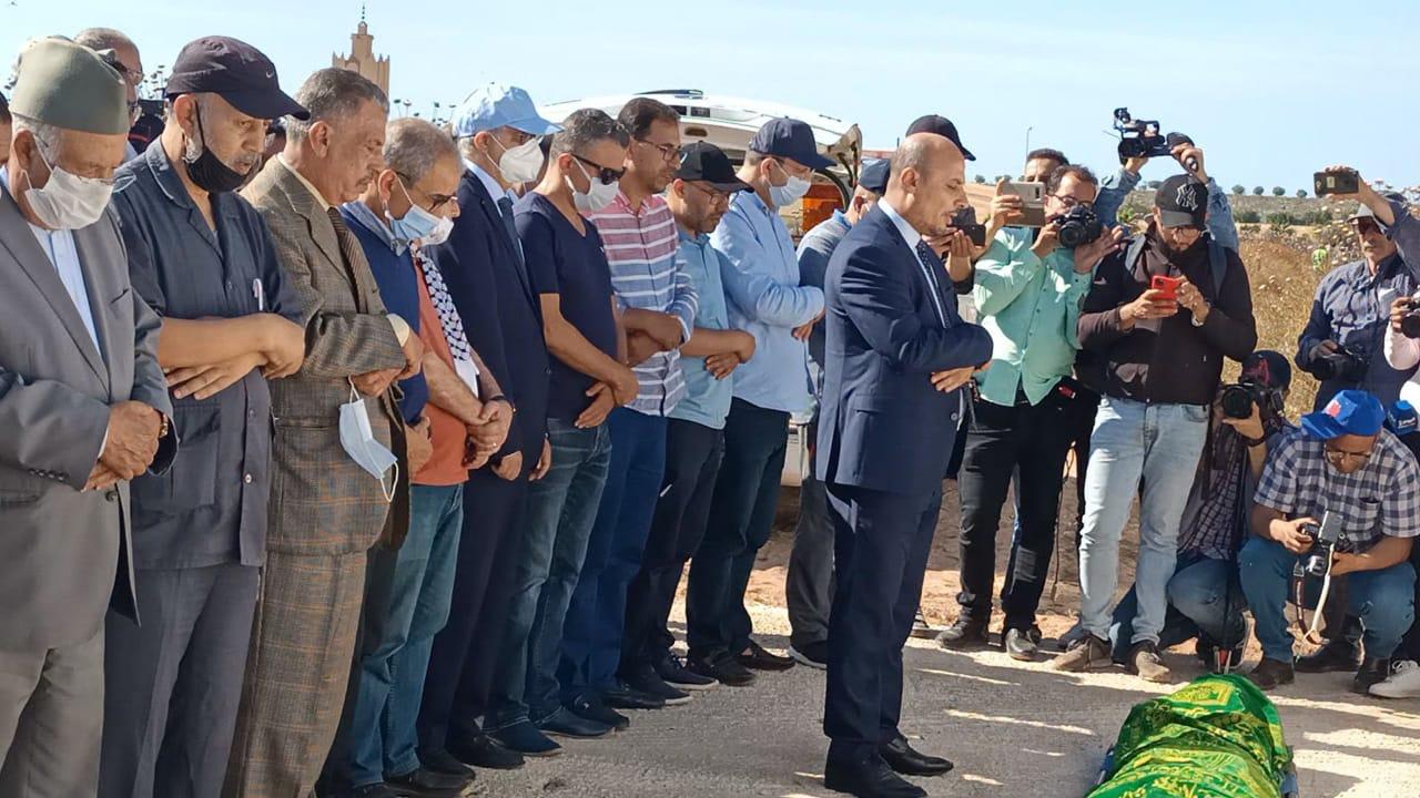 Émouvantes funérailles de Khalid Jamaï