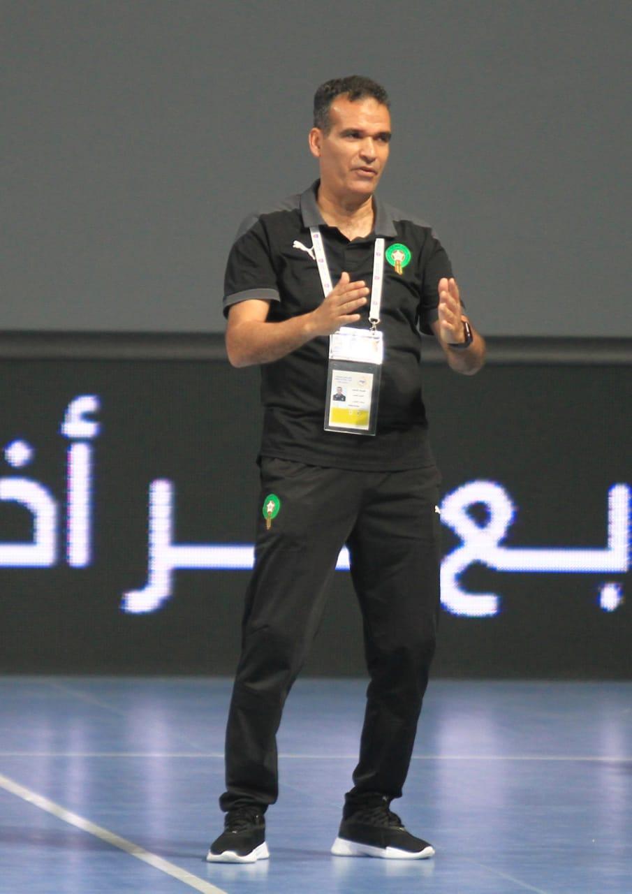 Entretien avec Hicham Dguig, patron du futsal national : « Nous sommes sur le bon chemin, mais beaucoup reste à faire ! »