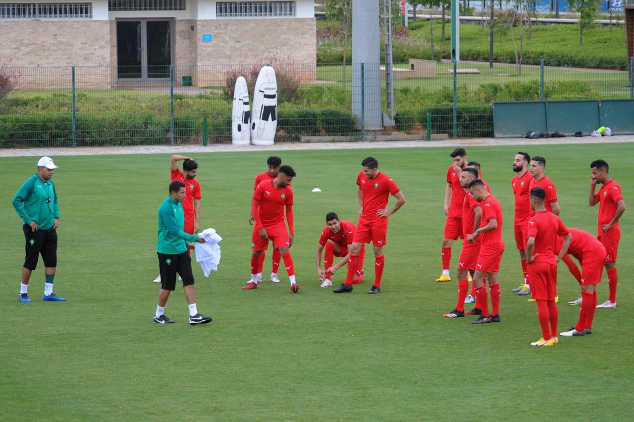 Football : La sélection nationale « B » en stage à Maâmora jusqu'au 14 juin