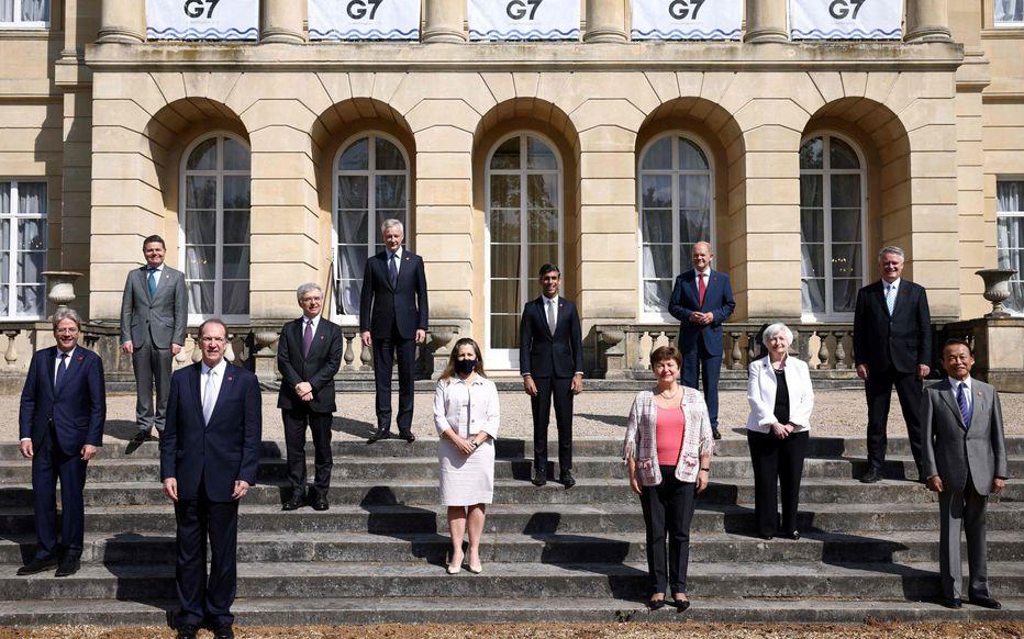 axation minimale sur les grandes entreprises: Paris salue un accord historique du G7