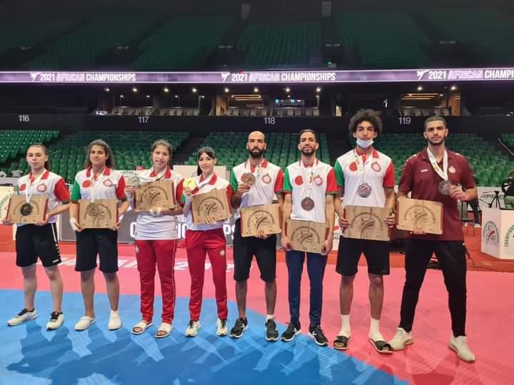 Taekwondo / Championnats d'Afrique : Le Maroc finit 1er au classement général