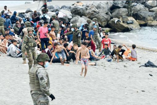 MNA de Sebta : Raid déployé pour empêcher les migrants de rejoindre Algésiras