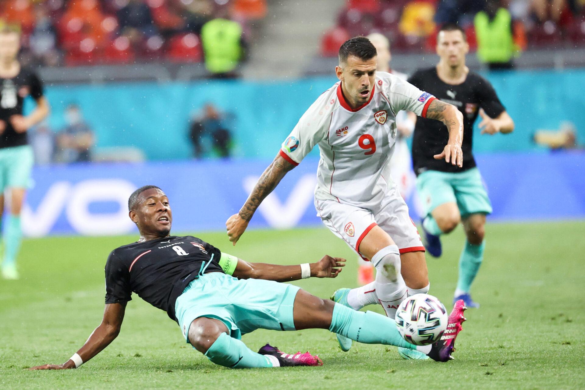 Euro 2020 : L'Autriche s'en sort bien face à la Macédoine du Nord (3-1)