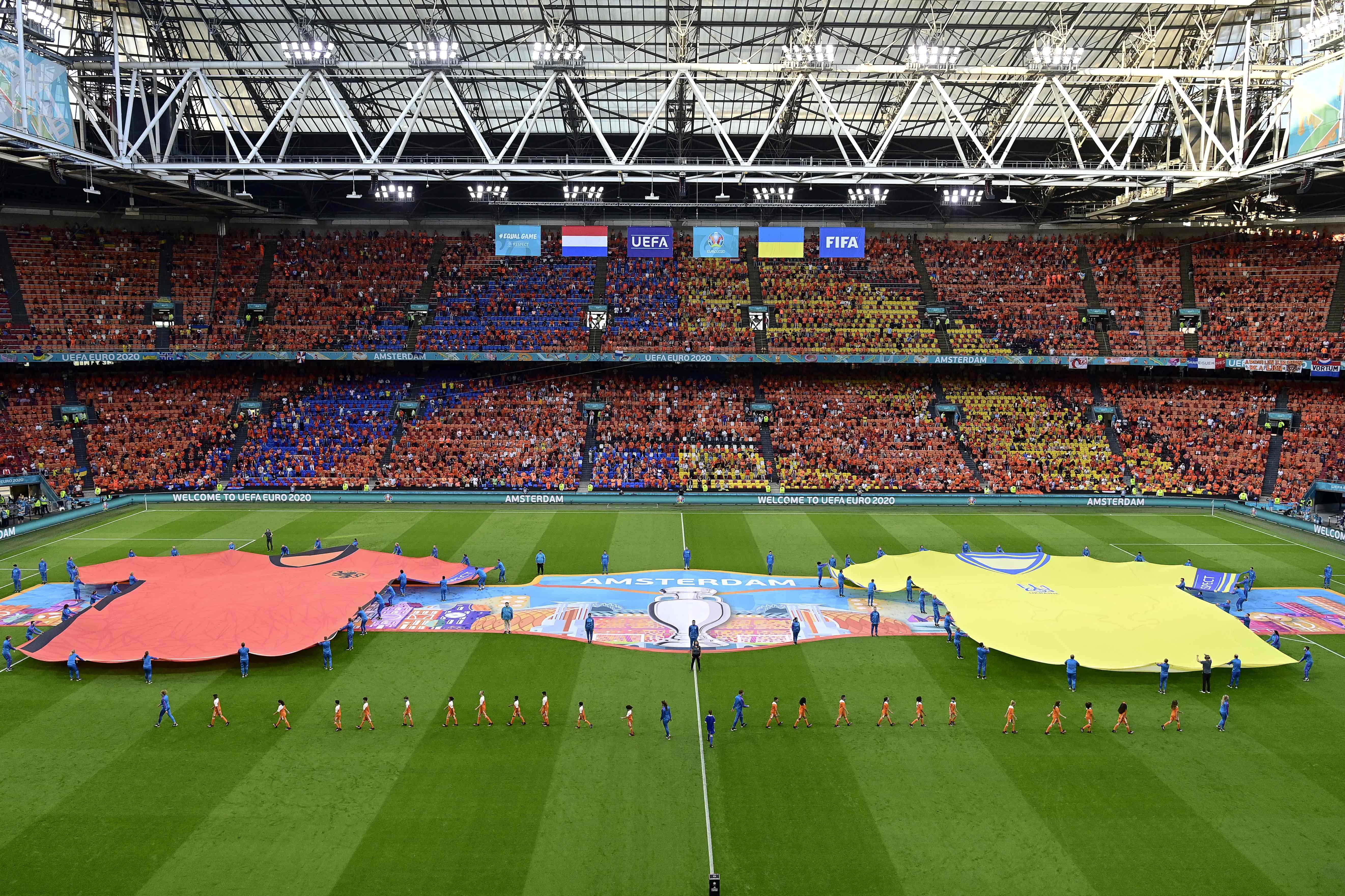 Euro 2020 : Le programme de ce lundi