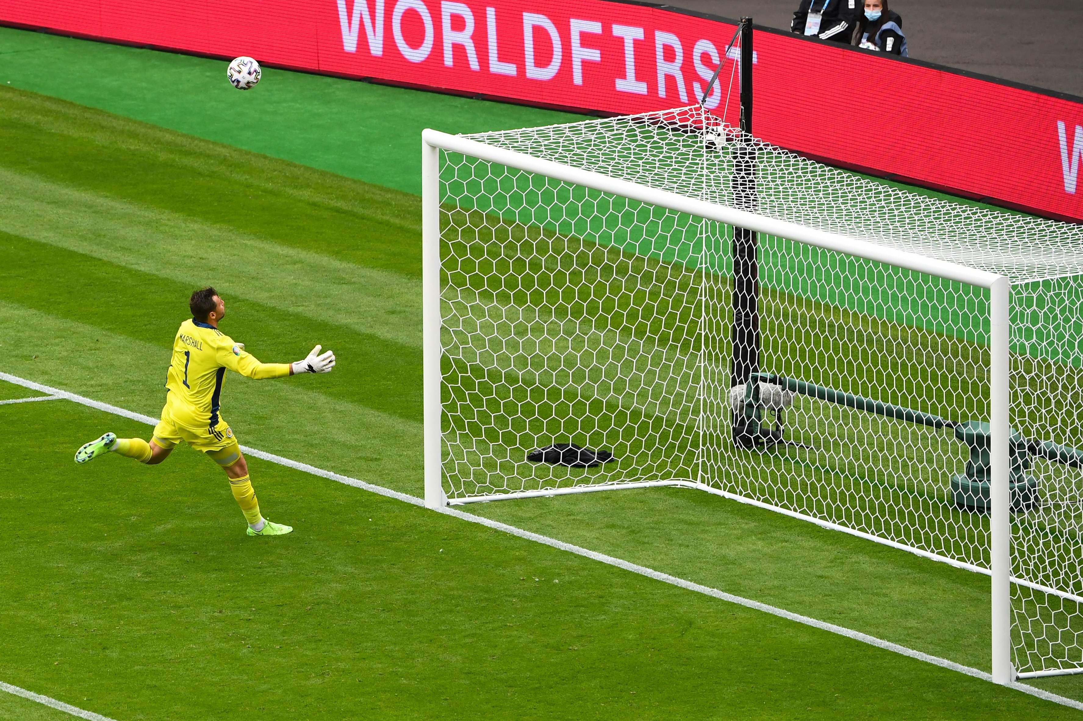 Euro 2020 : Un but venu d'ailleurs et une victoire tchèque face à l'Ecosse !