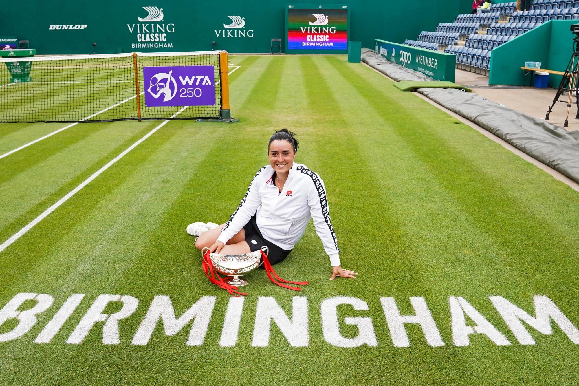 Tennis : La Tunisienne Ons Jabeur remporte son premier titre à Birmingham