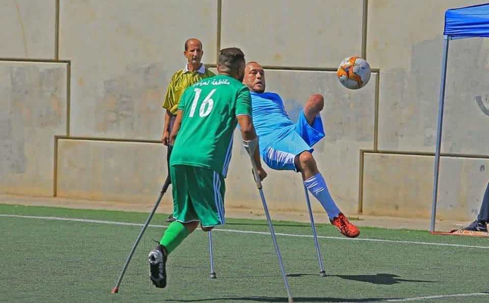 Handisport : La Fédération a organisé les finales du championnat national du football des amputés
