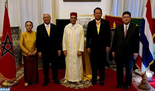 Bangkok : remise d'une décoration Royale à l'ex-ambassadeur de Thaïlande au Maroc