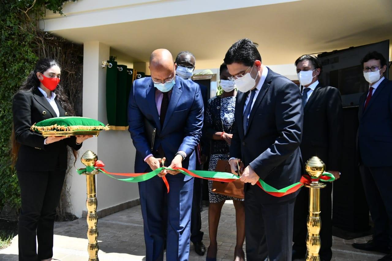 Rabat : Inauguration  du Siège du Bureau Programme de l'ONUCT pour le contre-terrorisme et la formation en Afrique
