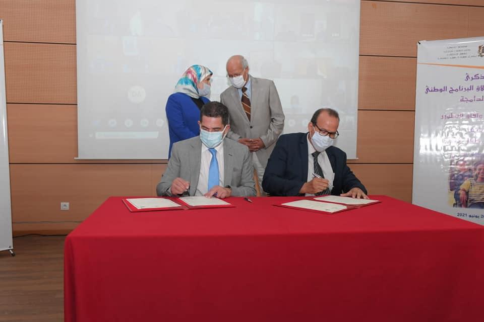 MEN / FRMSPSH : Signature d'une convention de partenariat visant l'inclusion du handisport dans l'EPS