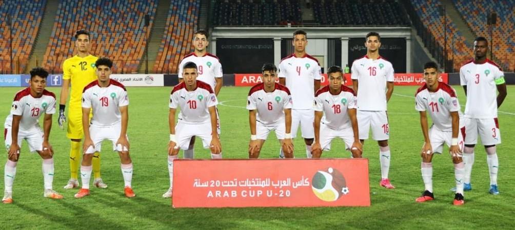 Coupe Arabe des Nations U20 : La sélection marocaine éliminée après les tirs au but