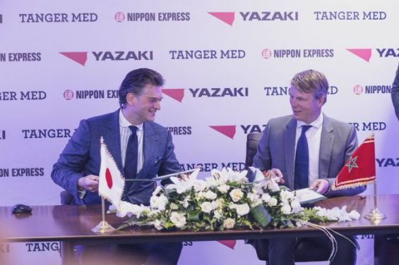 Yazaki Morocco et Nippon Express signent un partenariat de 10 millions d'euros