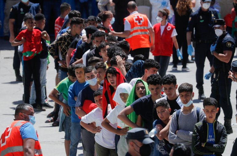 L'Espagne refuse de scolariser les mineurs marocains à Sebta