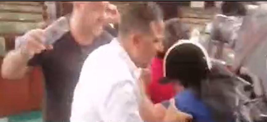 Capture d'écran - Abir Moussi agréssée par un député
